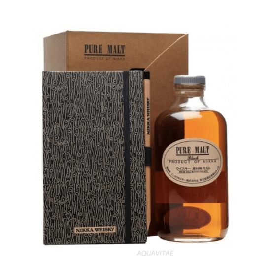 Whisky Nikka Black Coffret Journal Degustazione  NIKKA