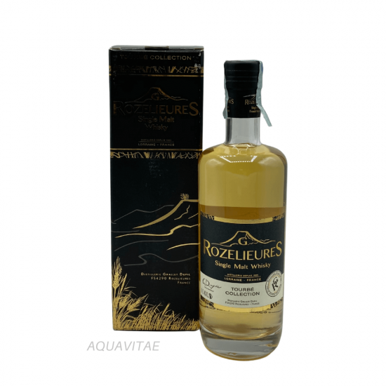 Whisky Rozelieures Black Label Tourbè Collection Whisky Francese Single Malt