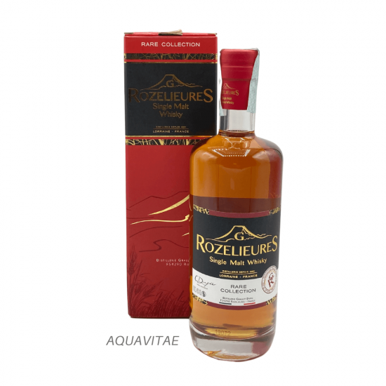 Whisky Rozelieures Red Label Rare Collection Whisky Francese Single Malt