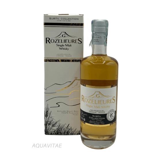 Whisky Rozelieures White Label Subtil Collection Whisky Francese Single Malt