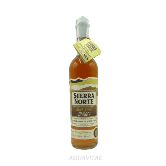 Whiskey Sierra Norte 85% Maiz Blanco Whiskey Messicano