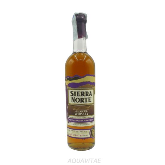 Whiskey Sierra Norte 85% Maiz Morado Whiskey Messicano