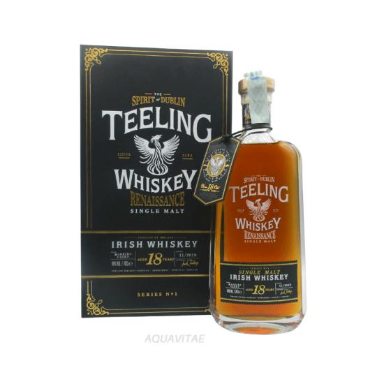 Teeling Single Malt 18 Year Old Renaissance Series 1 Whiskey Irlandese Single Malt