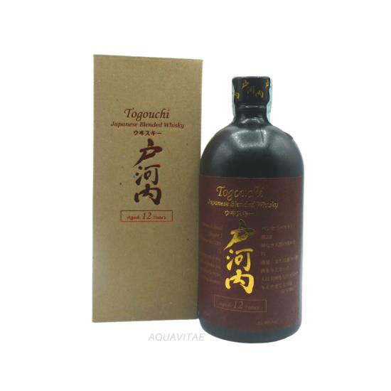 Whisky Togouchi 12 Year Old Japanese Blended Whisky  CHUGOKU JOZO