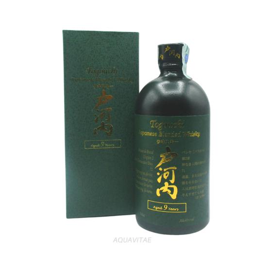 Whisky Togouchi 9 Year Old Japanese Blended Whisky CHUGOKU JOZO