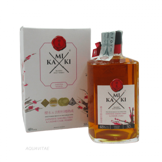 Whisky Kamiki Sakura Wood Whisky Giapponese Blended Malt