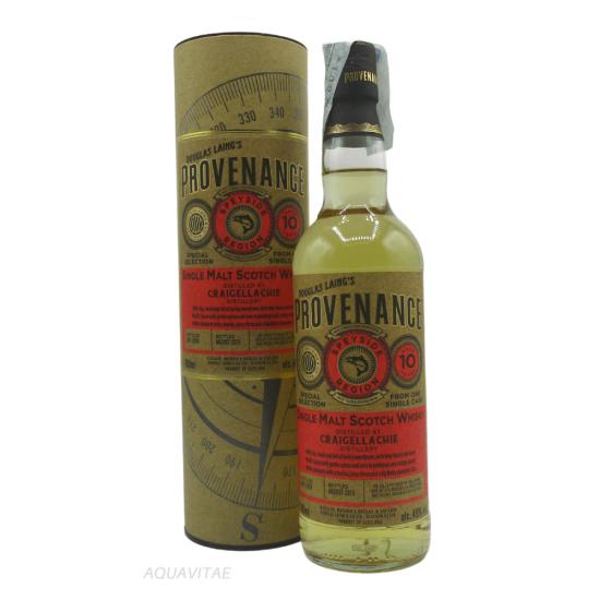 Whisky Provenance Craigellachie 10 Year Old Single Malt Scotch Whisky