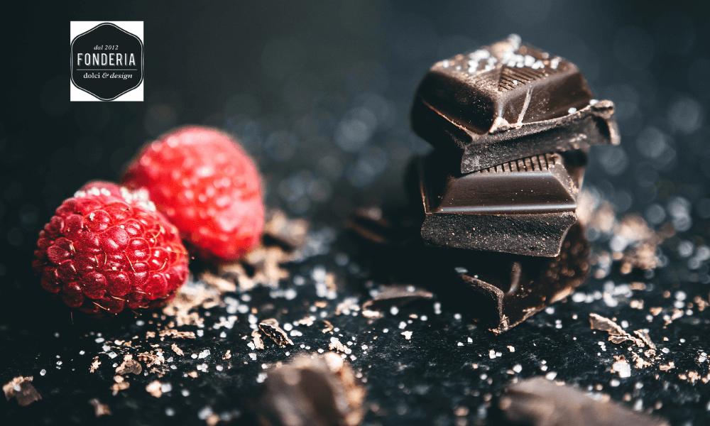 Cioccolata Fonderia Mini Tavolette Fondente e al Latte con Sale Integrale  Fonderia Dolci e Design