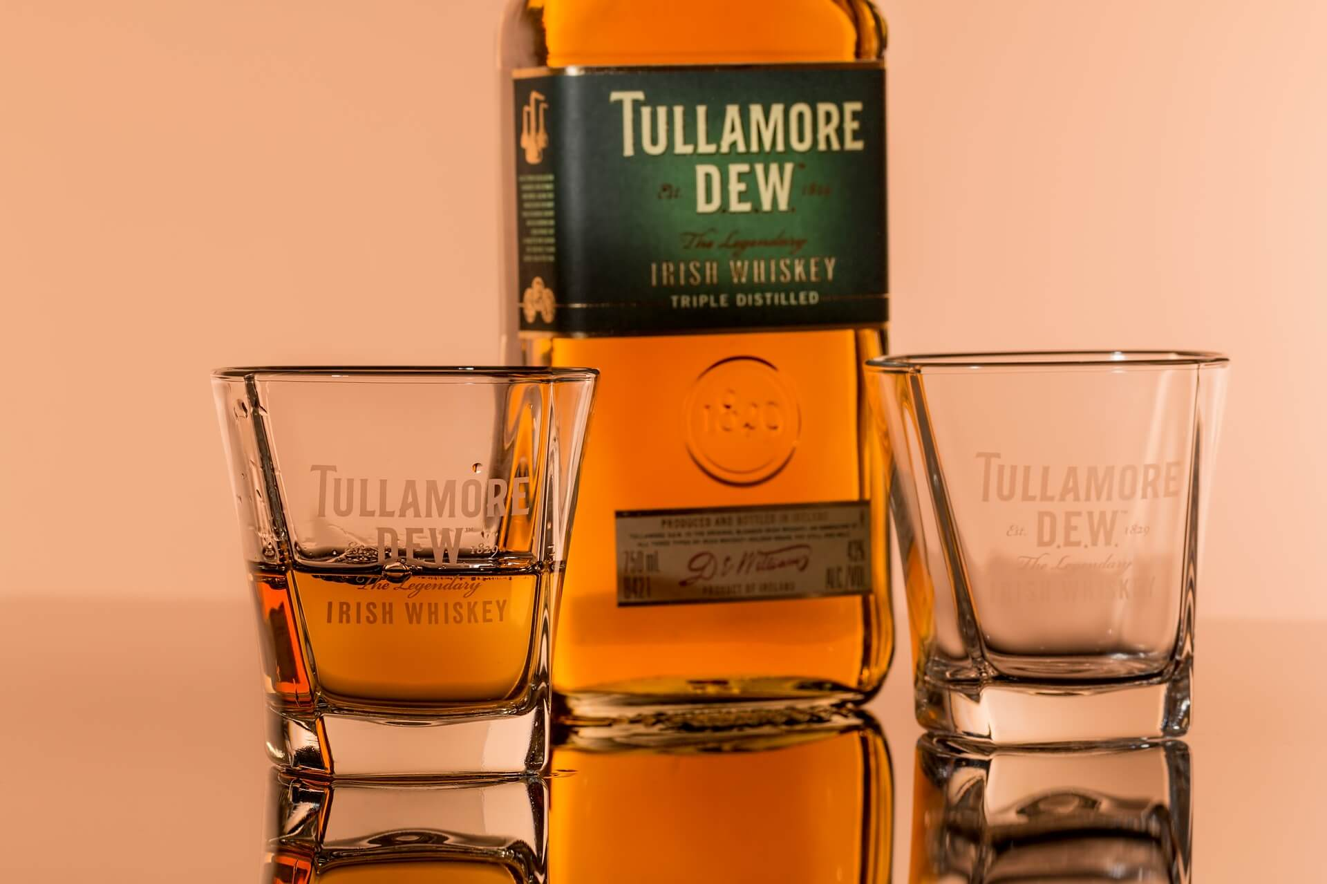 Whiskey Tullamore Dew Original Whiskey Irlandese Blended